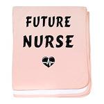 Future Nurse baby blanket