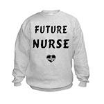 Future Nurse Kids Sweatshirt