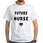 Future Nurse White T-Shirt