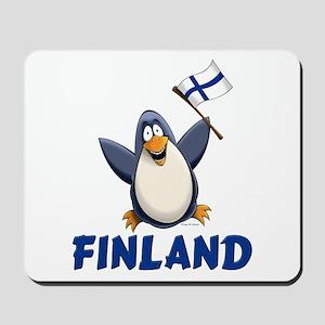 Finland Penguin Mousepad