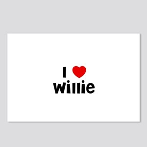 I * Willie Postcards (Package of 8)