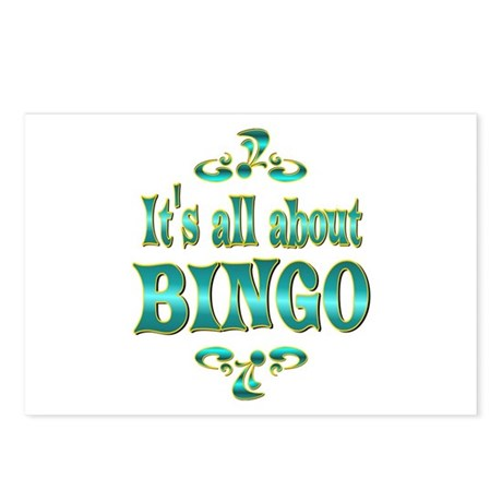 About BINGO Postcards (Package of 8)