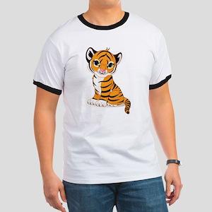 Baby Tiger Cub Ringer T