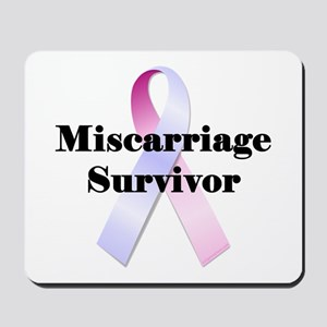 Miscarriage survivor Mousepad