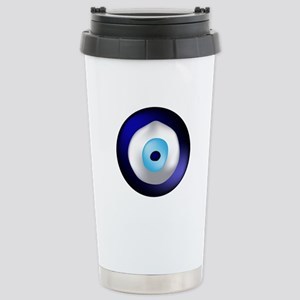 Evil Eye Protection Stainless Steel Travel Mug