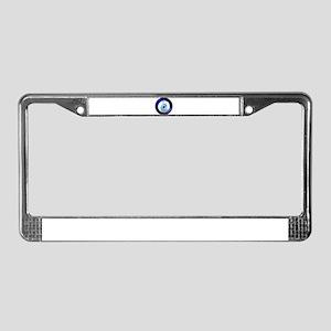 Evil Eye Protection License Plate Frame
