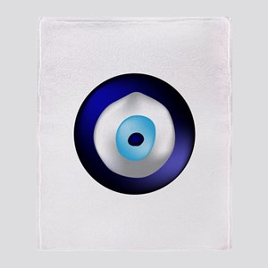 Evil Eye Protection Throw Blanket
