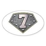 Iron City Fanatic Sticker (Oval 10 pk)