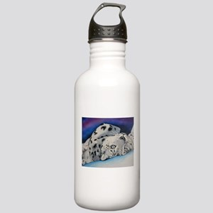 Snow Leopard Stainless Water Bottle 1.0L