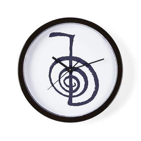 Power Symbol Wall Clock