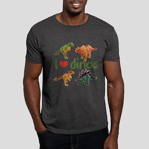 I Love Dinos Dark T-Shirt