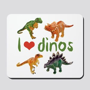 I Love Dinos Mousepad