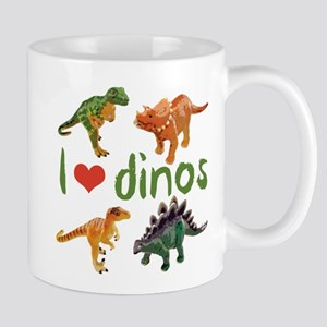 I Love Dinos 11 oz Ceramic Mug