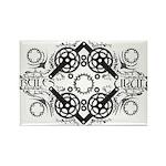 Circles Rectangle Magnet