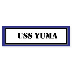 USS Yuma Sticker (Bumper)