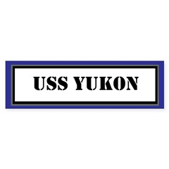 USS Yukon Sticker (Bumper)