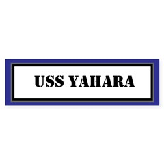 USS Yahara Sticker (Bumper)