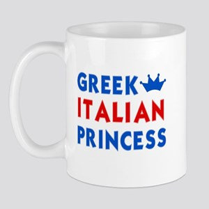 Greek Italian Princess Mug