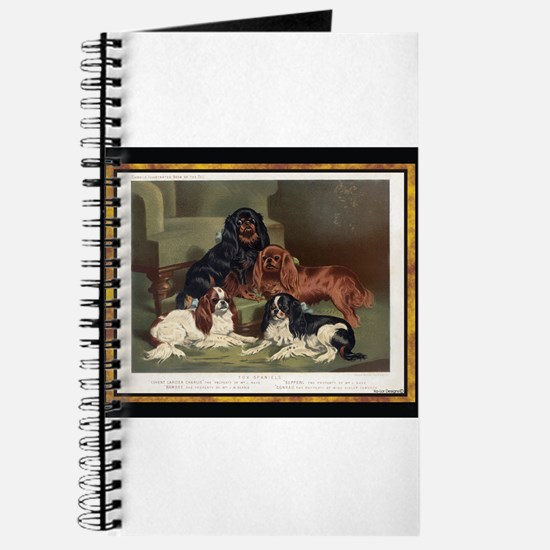 Antique King Charles Spaniels Journal