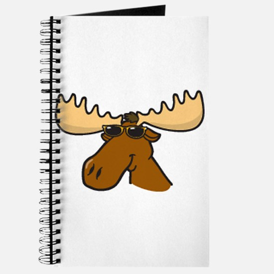 Moose with Shades Journal