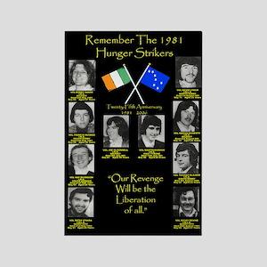 1981 hunger strikers Magnets