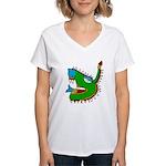 Cipactli Women's V-Neck T-Shirt