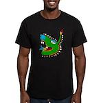 Cipactli Men's Fitted T-Shirt (dark)