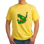 Cipactli Yellow T-Shirt