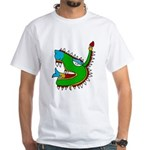 Cipactli White T-Shirt