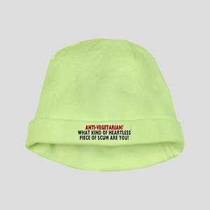 Anti-vegetarian? baby hat