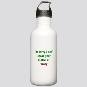 Dialect of Crazy Stainless Water Bottle 1.0L