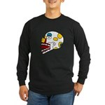 Miquiztli Long Sleeve Dark T-Shirt