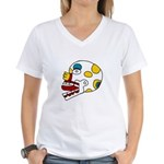 Miquiztli Women's V-Neck T-Shirt