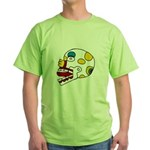 Miquiztli Green T-Shirt