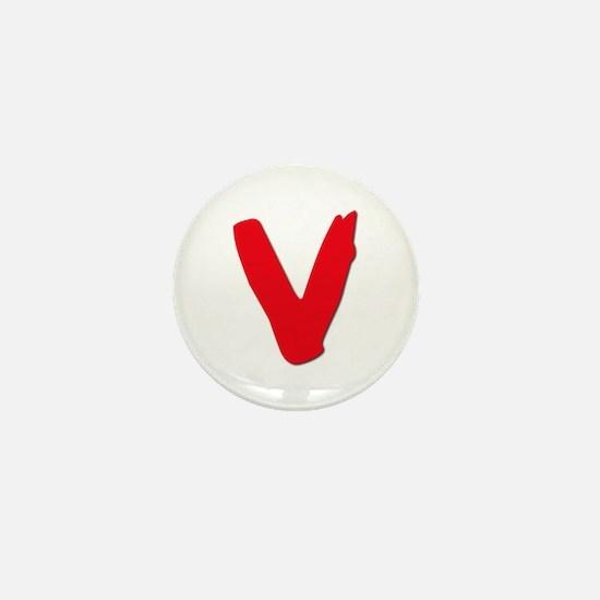 V Visitors Aliens TV Series Mini Button