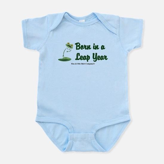 Born in a Leap Year Infant Bodysuit