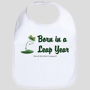 Born in a Leap Year Bib