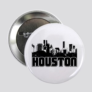 "Houston Skyline 2.25"" Button"