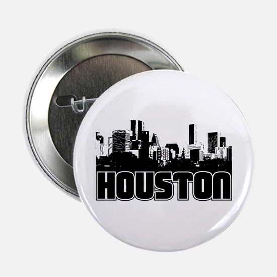 "Houston Skyline 2.25"" Button"
