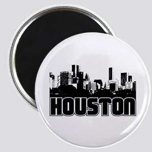 Houston Skyline Magnet