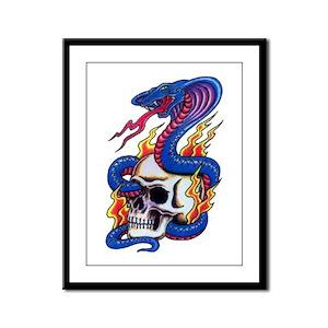 Tattoo Framed Panel Print
