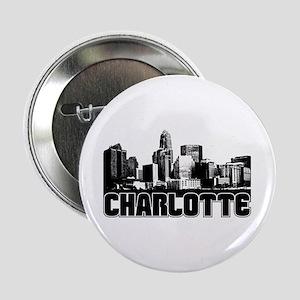 """Charlotte Skyline 2.25"""" Button"""