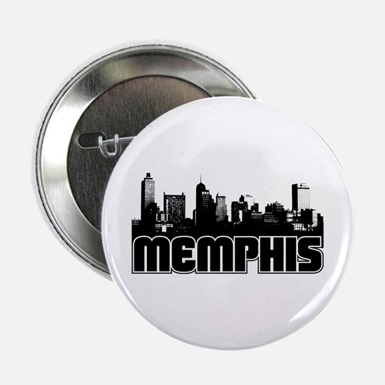 "Memphis Skyline 2.25"" Button"
