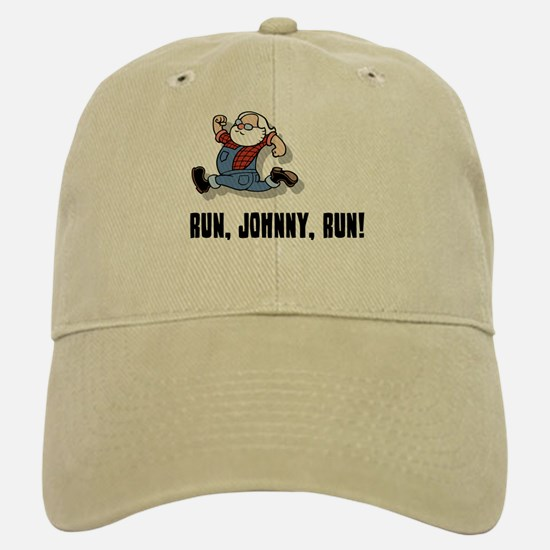 Run, Johnny, Run II Baseball Baseball Cap