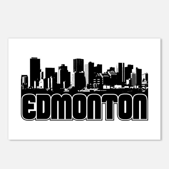 Edmonton Skyline Postcards (Package of 8)