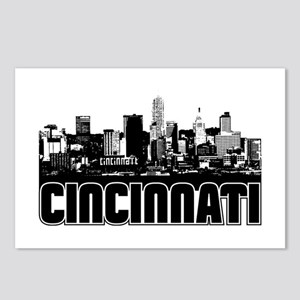Cincinnati Skyline Postcards (Package of 8)