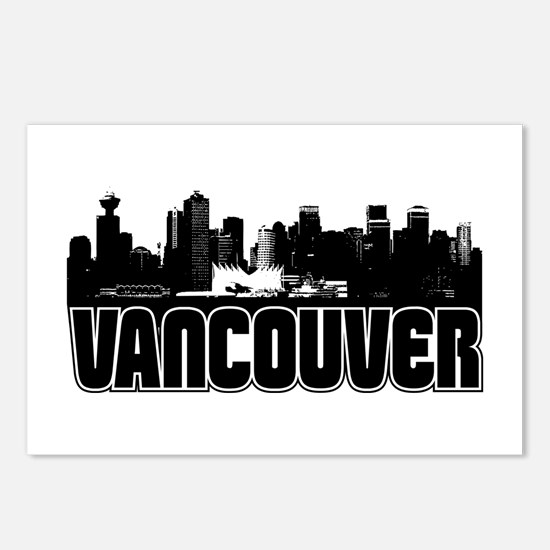 Vancouver Skyline Postcards (Package of 8)