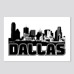 Dallas Skyline Postcards (Package of 8)