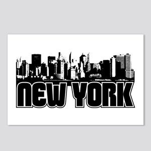 New York Skyline Postcards (Package of 8)