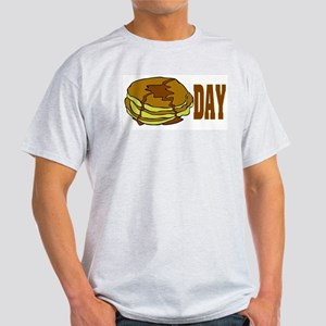 Pancake Day Ash Grey T-Shirt